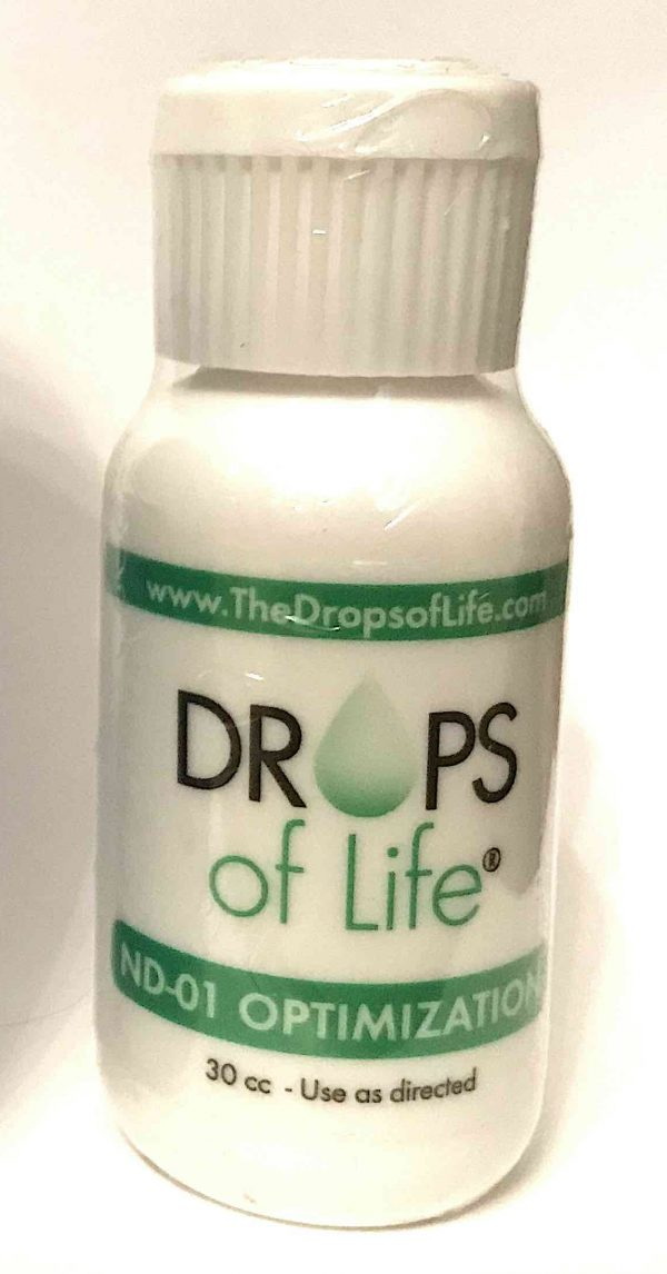 drops of life for health optimization and to resist aging